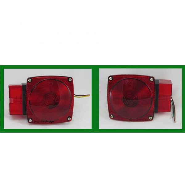 Combination Stop,Tail, Turn Light With Extra Long Side Lens