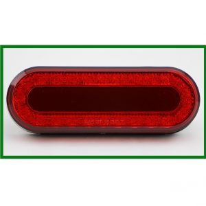 """Mirage"" Stop, Tail, Turn Light 6"" Oval 24 LED"