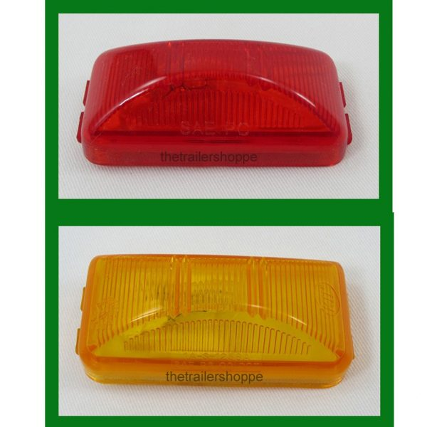 Rectangle Clearance Light 1x2