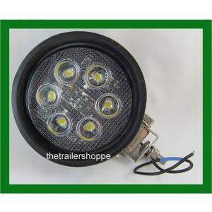 """Maxxima 4"""" Round Work Light -700 Lumen"""