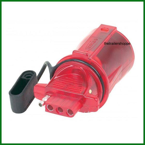 Trailer Light Adaptor Converter 7 RV to 4 Pin Hokins