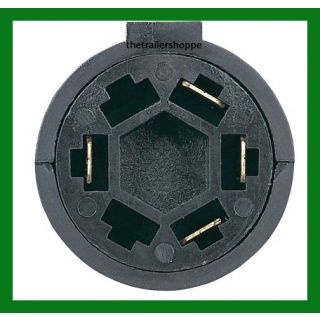 Trailer Light Adaptor Converter 7 RV to 4 Pin Lighted Tester