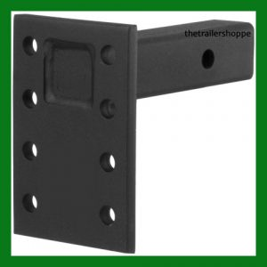 "Adjustable Pintle Mount 2"" Receiver 7"" Plate"