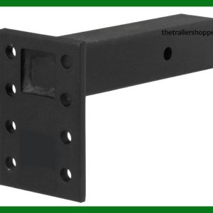 "Adjustable Pintle Mount 2 1/2"" Receiver 7"" Plate"