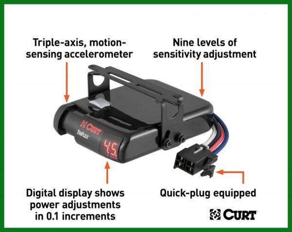 Curt Triflex Trailer Brake Control