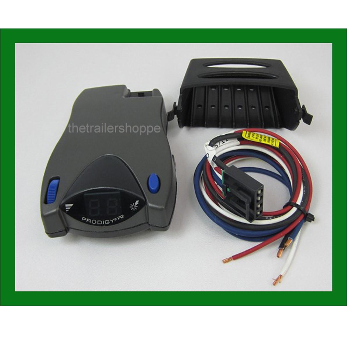Tekonsha Prodigy P2 Electronic Brake Controller The Trailer Shoppe