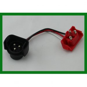 3-Pin Male Grote Adapter Harness Light Plug Pigtail