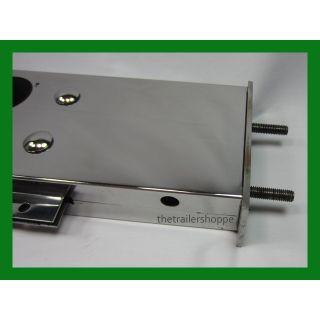 Stainless Steel Spring-Loaded Mud Flap Light Bar Holder