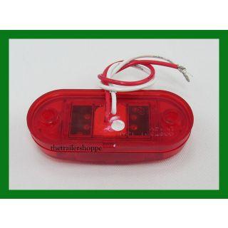 """Side Marker 2 LED Light 2-1/2"""" X 1"""""""
