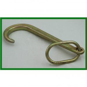 "1/4"" Forged Auto Tow Hooks with 1/2"" Link"