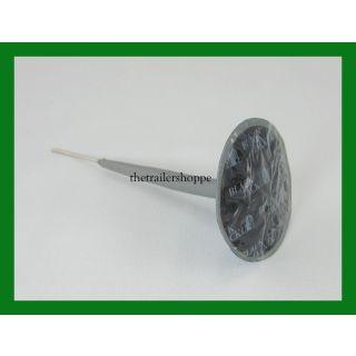"BlackJack Tire Repair Plug Patch Combination 1 7/8"" Round 1/4"" Stem"