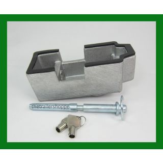 Enclosed Trailer Side & Ramp Door Bar Lock