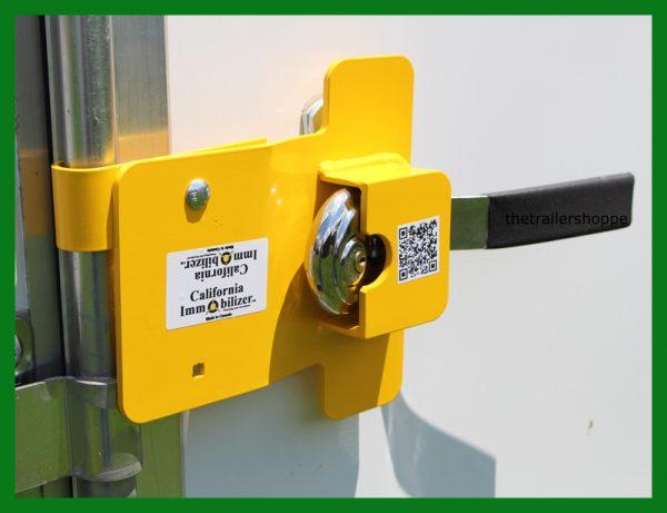 Enclosed Trailer Bar Door Lock