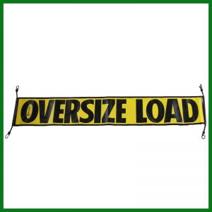 Mesh OVERSIDE LOAD Banner w/ Bungee Strap