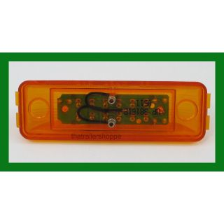 "Rectangular Trailer Clearance Light 1-1/4"" X 3-7/8"""