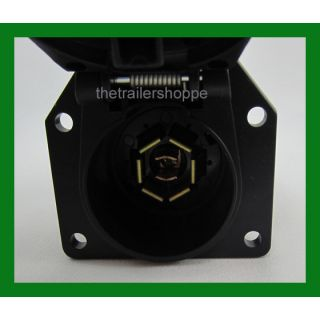 7 Way RV Plug Truck End Light Connector Socket