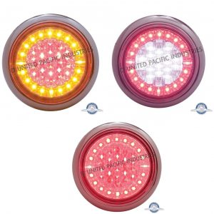 """Euro"" 4"" Round Stop Turn Tail Light"