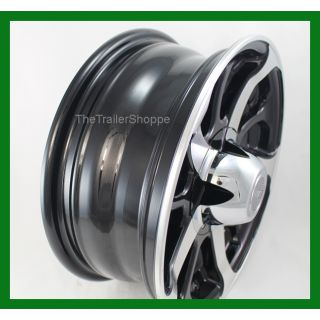 "Mamba 15""  Wheel with Black Detail 8 Spoke 5 on 4.5"