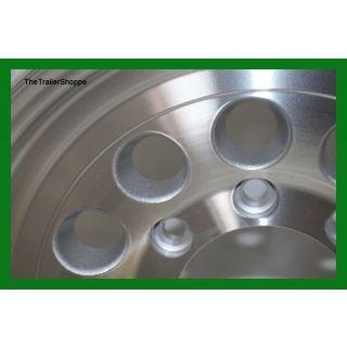 "Aluminum 16"" 8 Lug Modular Wheel"