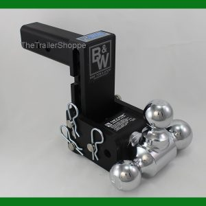 """Tow and Stow Adjustable Ball Mount 5"""" Drop -3 Ball"""