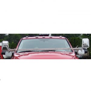 Chevy Extendable Stainless Steel Mirror Bars