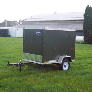 2017 ULH 4 X 6 United Enclosed Trailer
