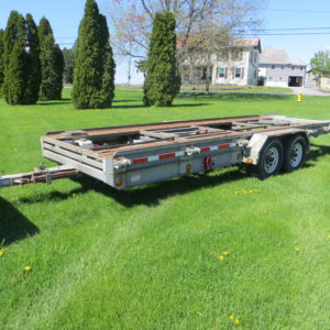 1999 Sp CONSTR 20' Shed Trailer