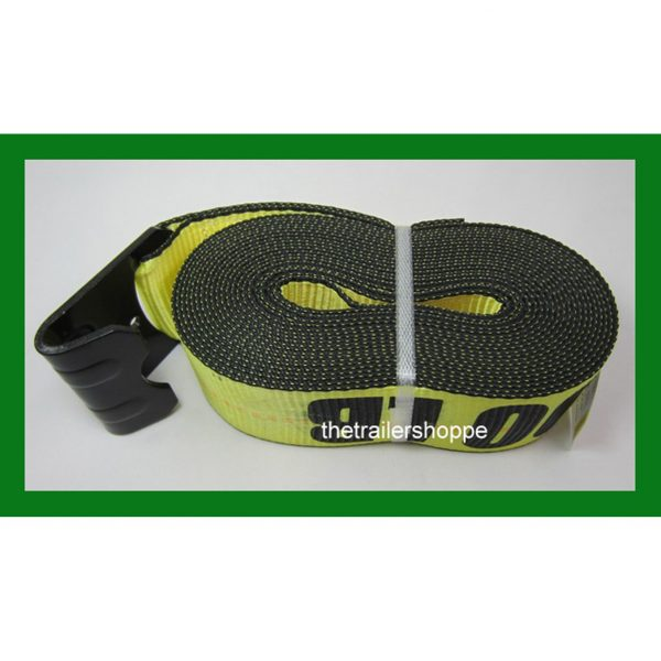 """Ratchet Strap with Flat Hook 3"""" x 30'"""
