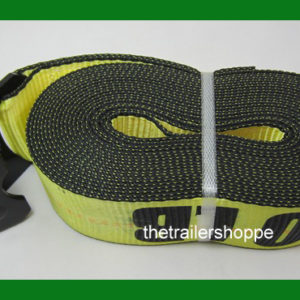 "Ratchet Strap with Flat Hook 3"" x 30'"