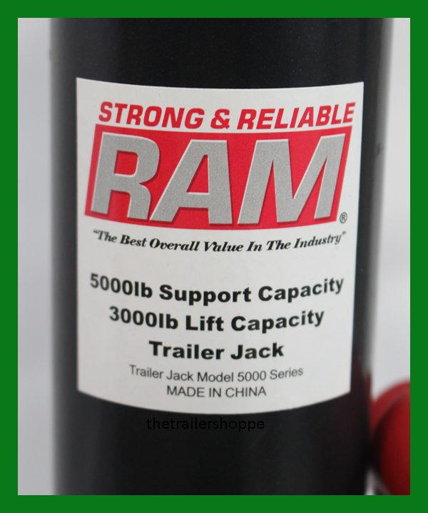 "Ram 3,000 Lbs Lift A-frame Jack Top Wind 14"" Lift"