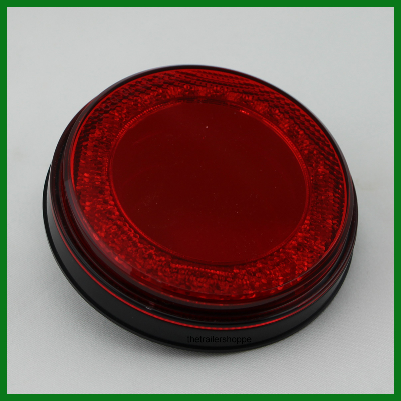 U0026quot Mirage U0026quot  Stop  Turn  Tail Light 4 U0026quot  Round 24 Led Red