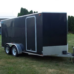 Used 2011 Thunder 7' X 14' Enclosed Trailer