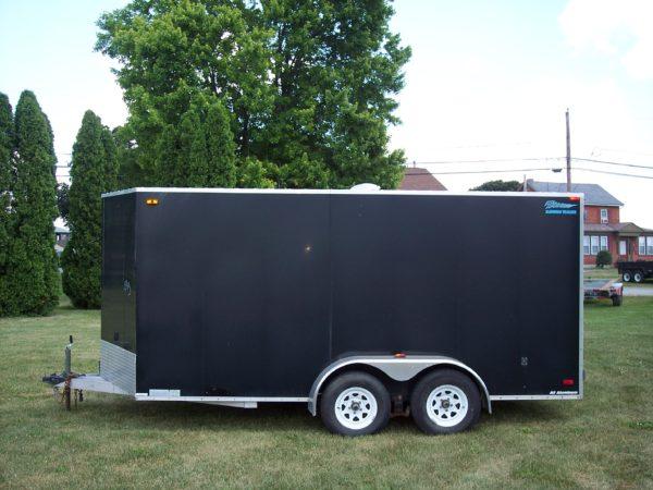 Used 2011 Thunder 7' X 14' Enclosed Trailer