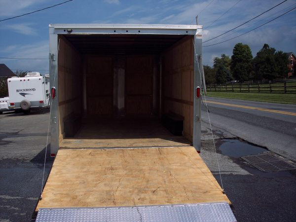 Used 2015 Carry On 8.5 X 18 Enclosed Trailer