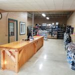 Front Counter for The Trailer Shoppe Retail Store