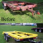 Refurbished 20 Ft. Shed Trailer