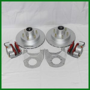 Kodiak 5.2-6K 6 Lug Hub/Rotor Disc Kit for 1 Axle