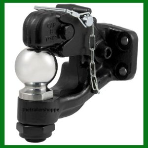 """Combination Forged Ball/Pintle Hook 2-5/16"""" Ball"""