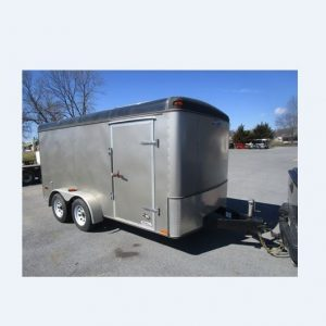 Used 2002 Southwest 7X16 Enclosed Trailer
