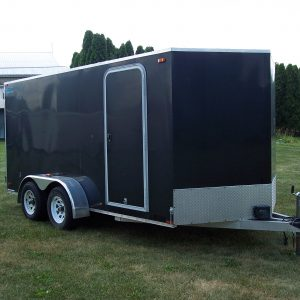 Used Enclosed Trailer