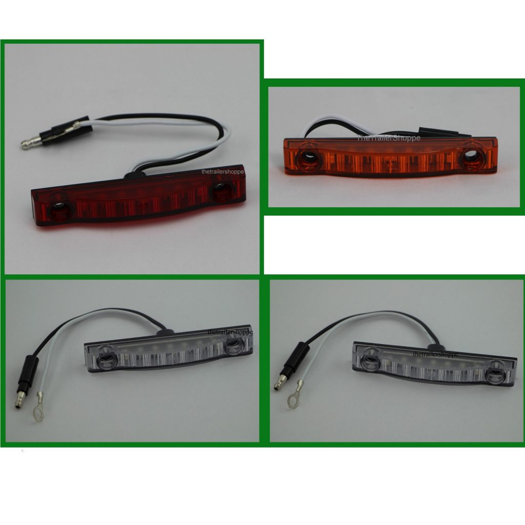 """Thin-Line 3/4"""" x 4"""" 7 LED Low Profile Clearance Light ..."""