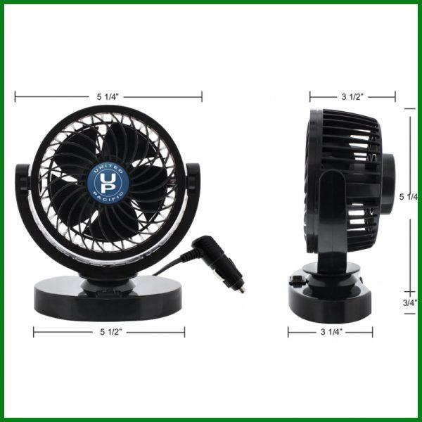 Mini Cooling Turbo Fan 12V
