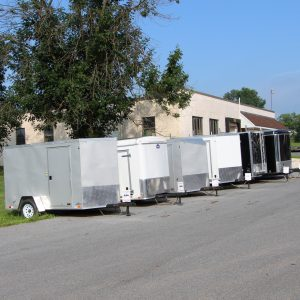 New Enclosed Trailers