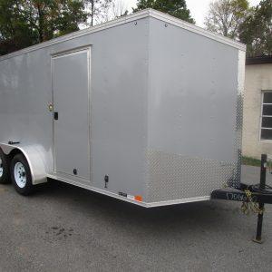 2020 XLV 7X16 United Enclosed Trailer