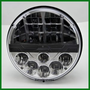 """Replacement Headlamp 7"""" Round 12 White LEDs"""