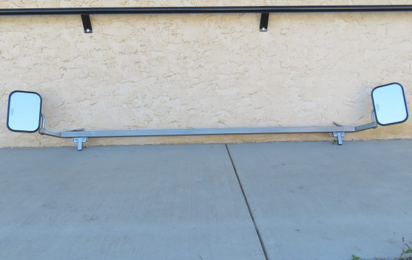 Used Extendable Stainless Steel Mirror Bars