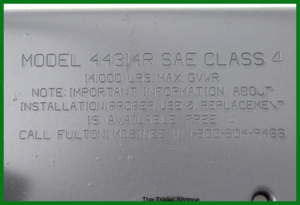 """A-Frame 2-5/16"""" Coupler - 14,000 lb"""