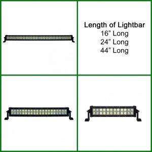 Light Bar LED Dual Row Flood/Spot Light Bar