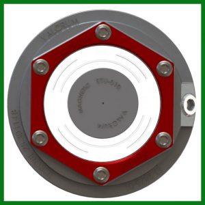 Screw In Aluminum Oil Cap  6K, 7K, & 8K 8 bolt axles