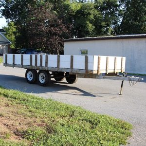 Used 7X20 Deck Over Trailer